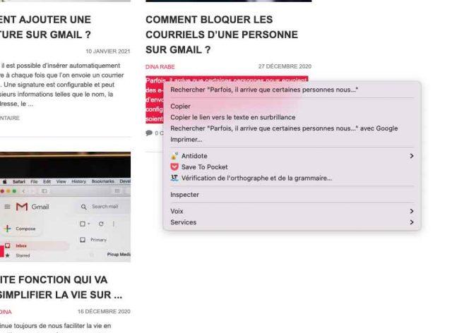 Une capture écran de languageTool