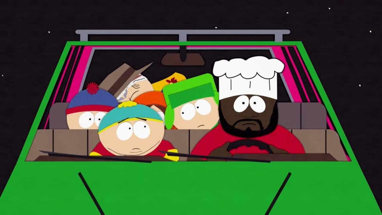 Un extrait de South Park