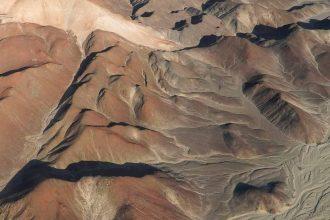 Une photo représentant la région de Nazca
