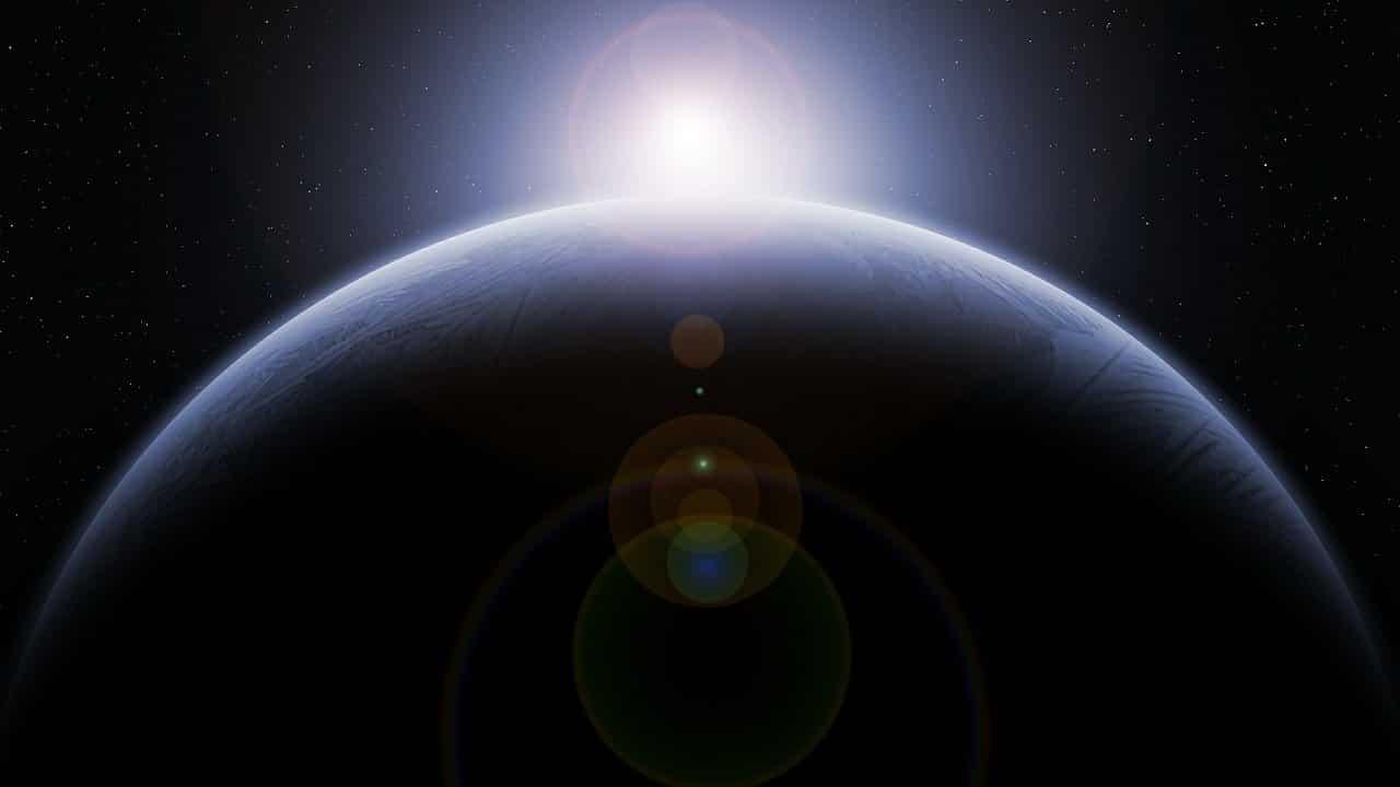 Une exoplanète dans le froid spatial