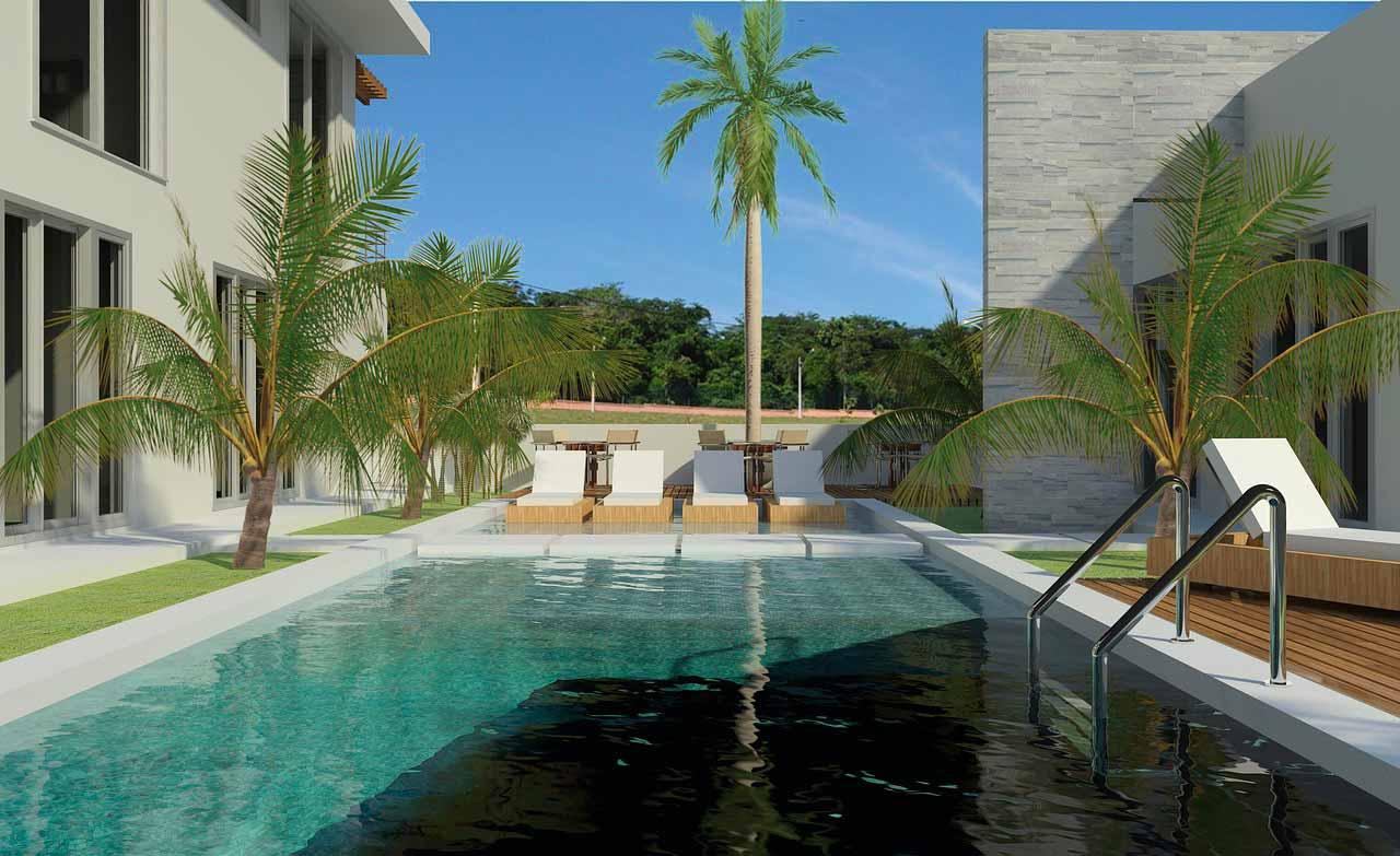 Un visuel d'une piscine