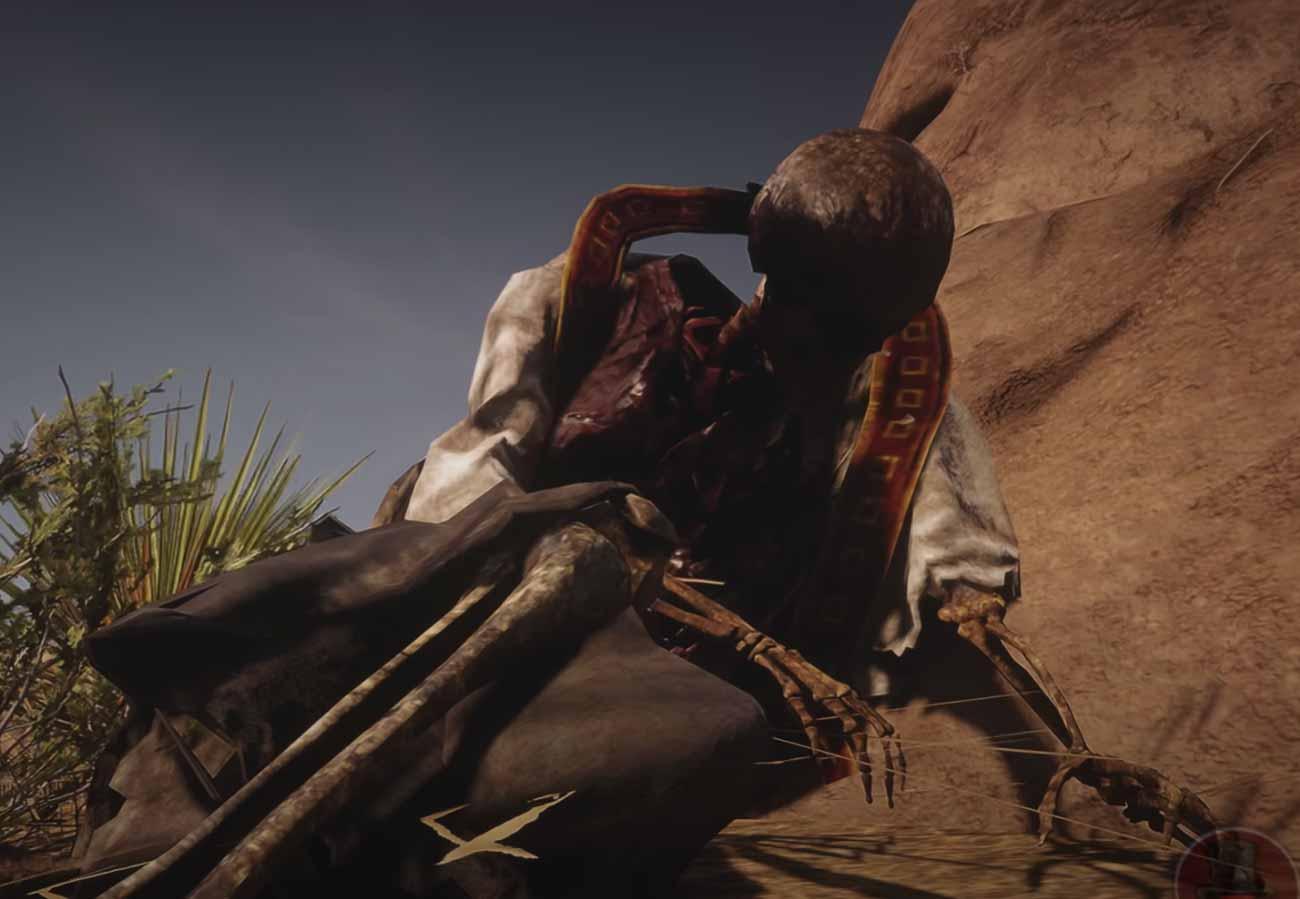 Une scène de Red Dead Redemption 2