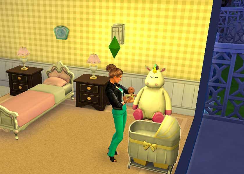 Une capture écran des Sims 4