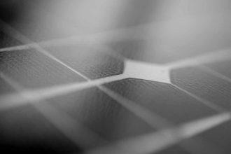 La photo de panneaux solaires