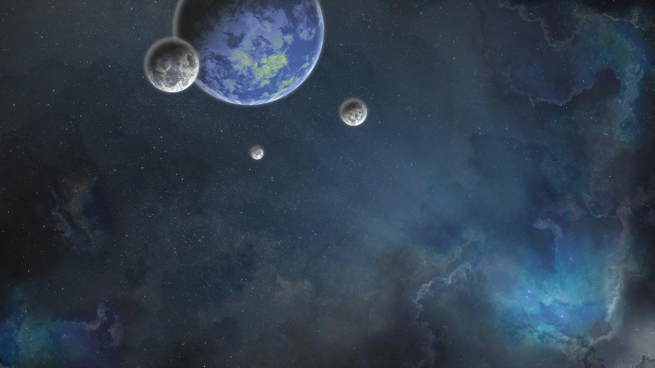 Des planètes dans l'univers