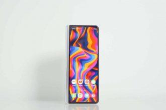 Le Galaxy Z Fold 3 replié
