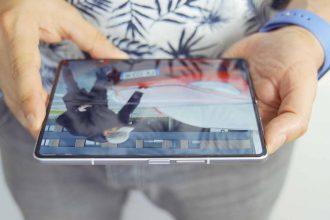 L'écran intérieur du Galaxy Z Fold 3