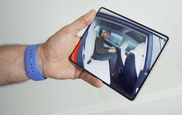 Le Fold 3 en mode tablette