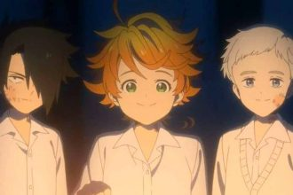 Un extrait de l'anime The Promised Neverland