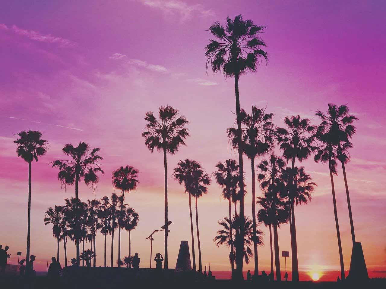 Une photo de la ville de Los Angeles