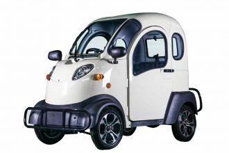 Une petite voiture électrique taillée pour la ville