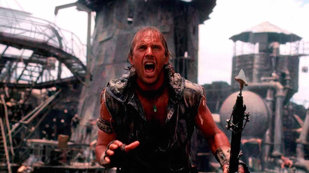 Kevin Costner dans Waterworld