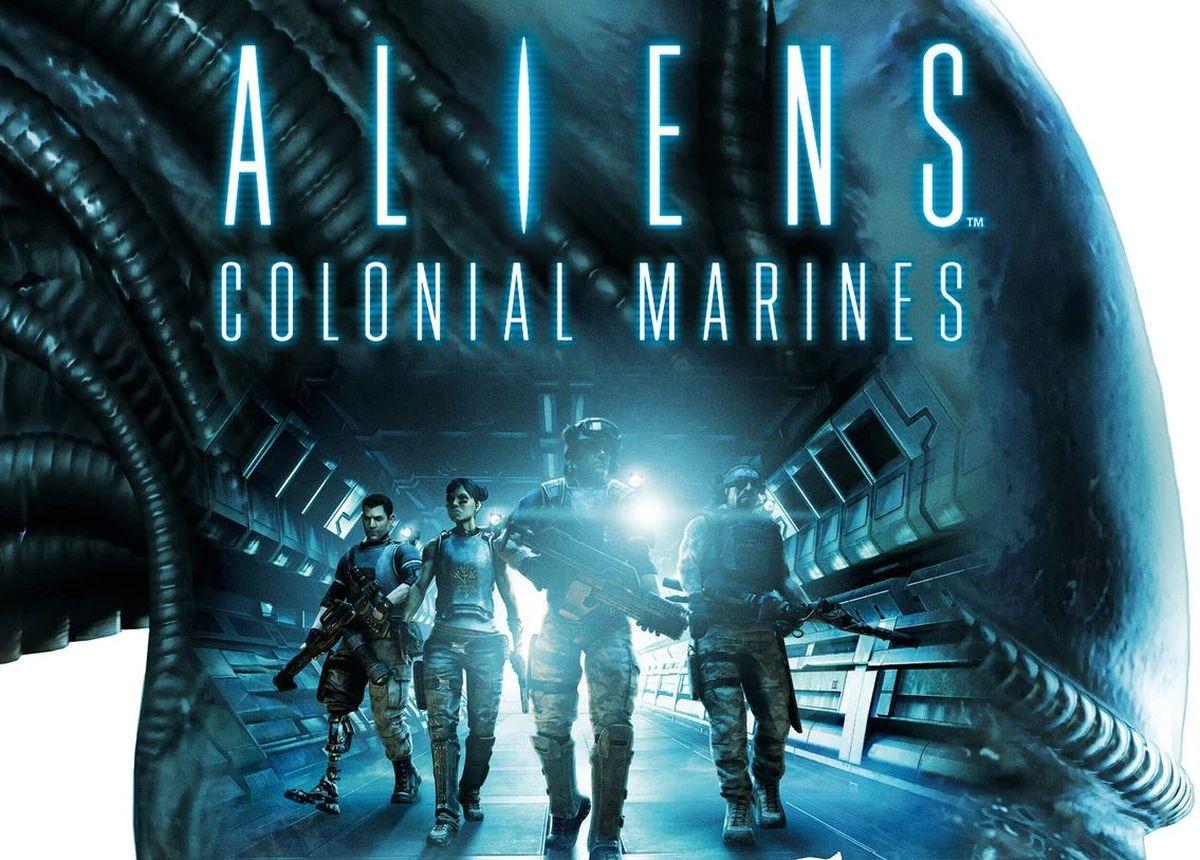 La jaquette d'Aliens Colonial Marines