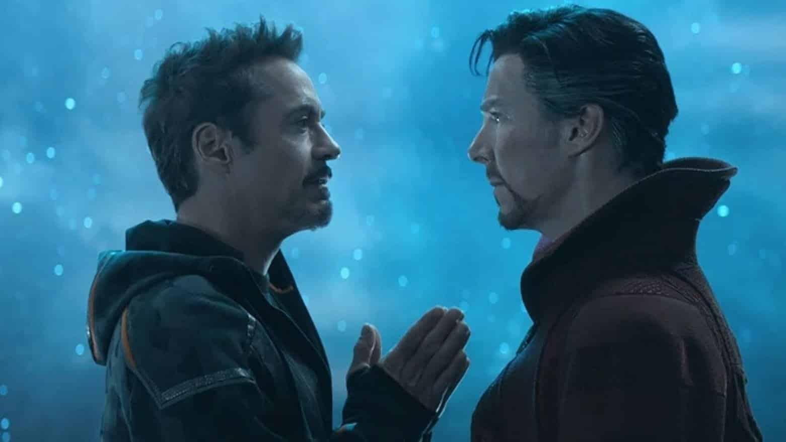 Iron Man face à Doctor Strange