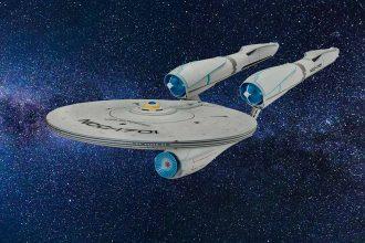 Le vaisseau de Star Trek