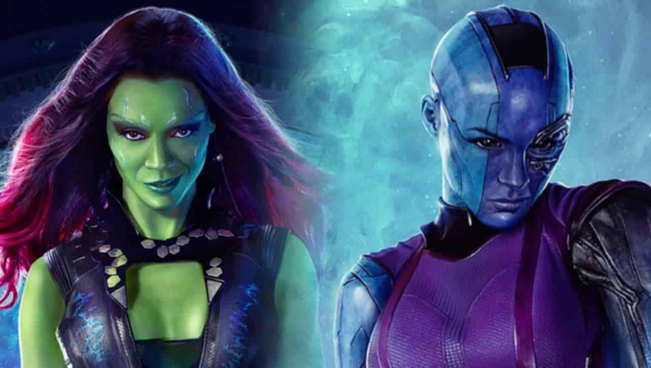 Les Gardiens de la Galaxie 3 est centré sur Gamora et Nébula