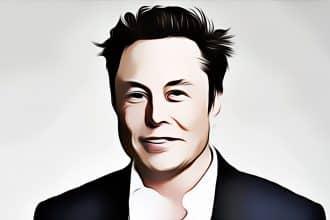 Un portrait d'Elon Musk