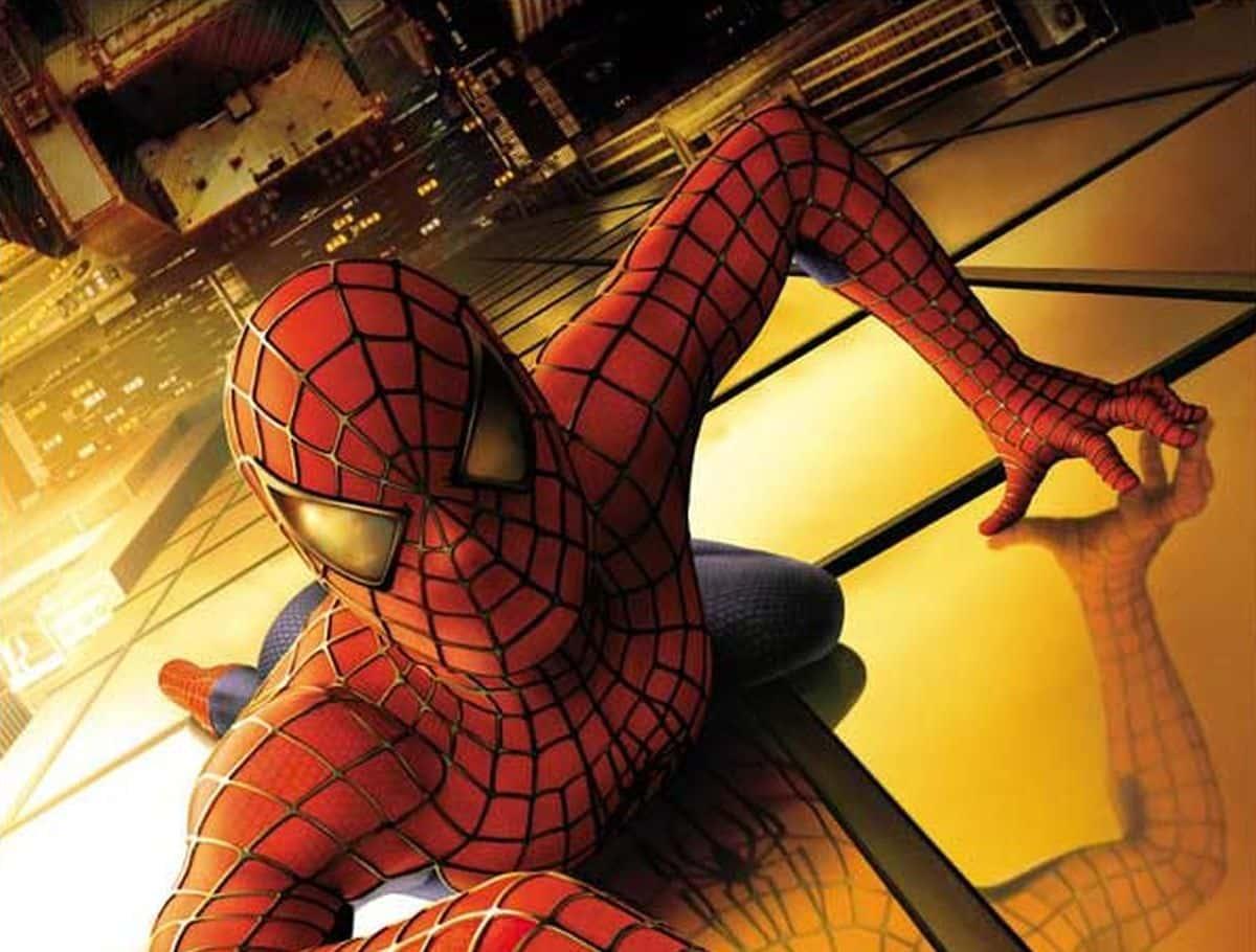 Une affiche de Spider-Man