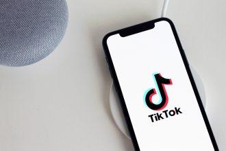 TikTok sur un smartphone