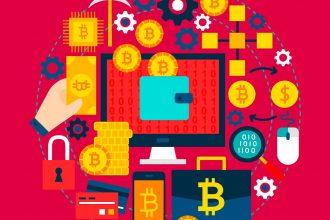 Une illustration représentant la blockchain