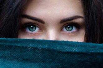 Le regard d'une fille