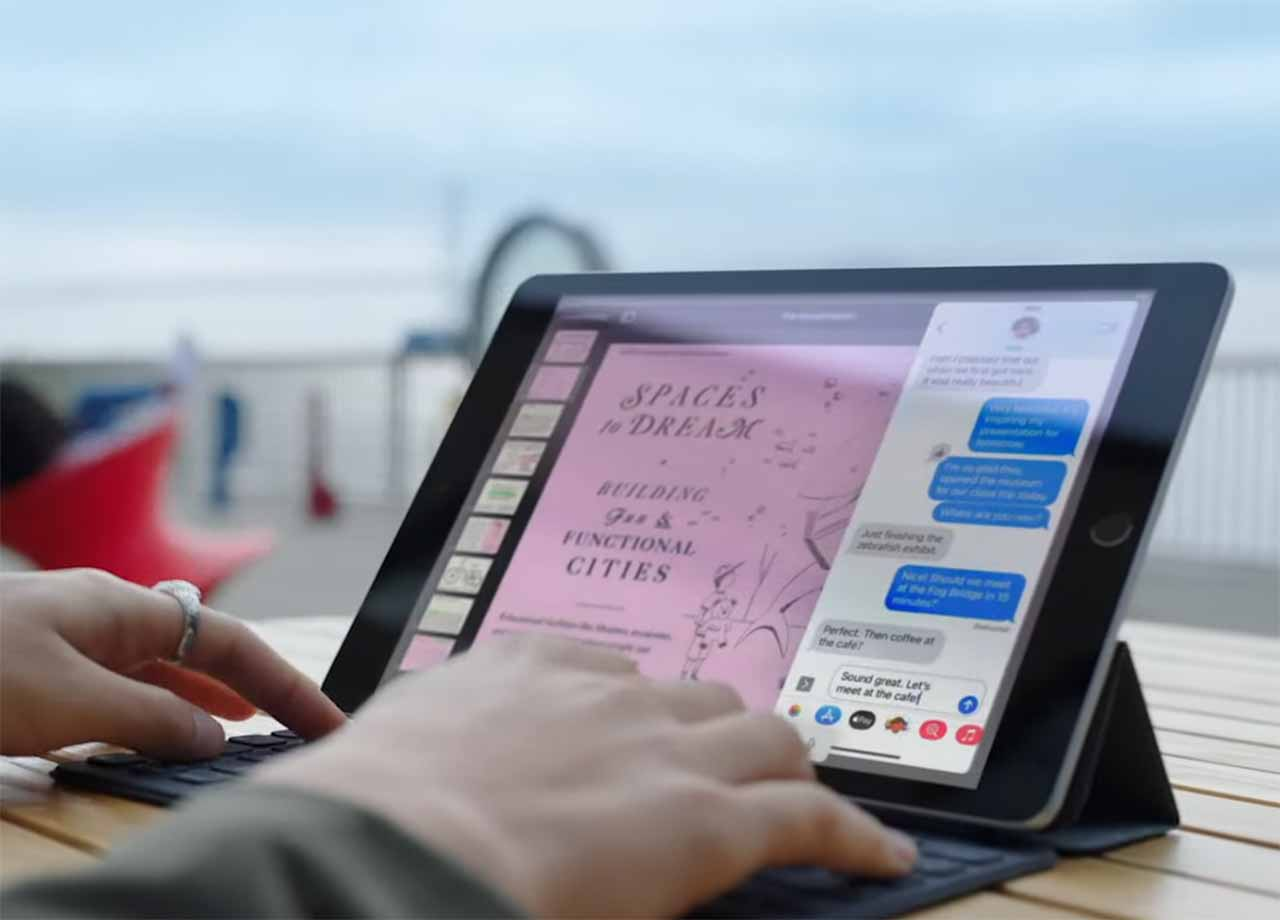 L'iPad 9 en pleine action