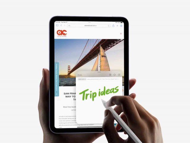 L'iPad Mini 4