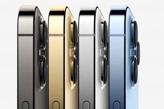 Les différents coloris de l'iPhone 13 Pro