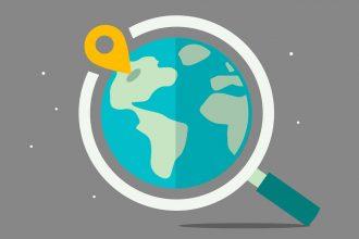 Une image représentant la localisation sur une planète