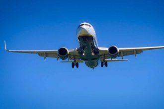 Un avion de ligne