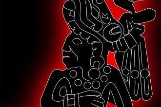 Une illustration représentant la civilisation maya