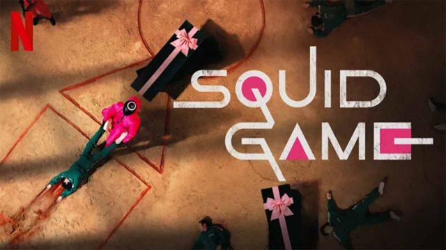 L'affiche de The Squid Game