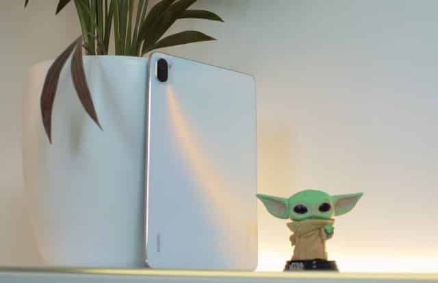 Le dos de la Xiaomi Pad 5