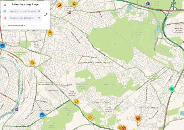 Waze, sans doute l'alternative la plus connue à Google Maps