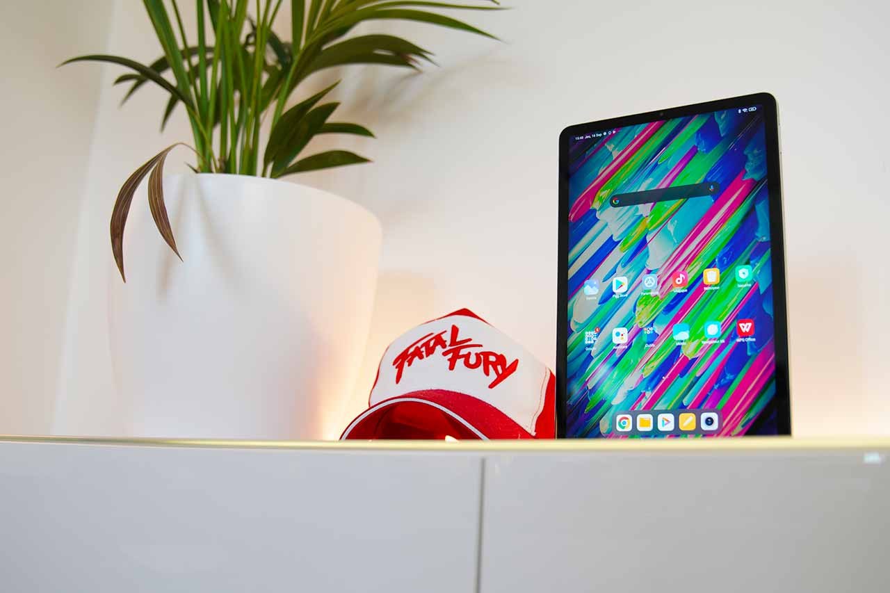 La Xiaomi Pad 5 de face