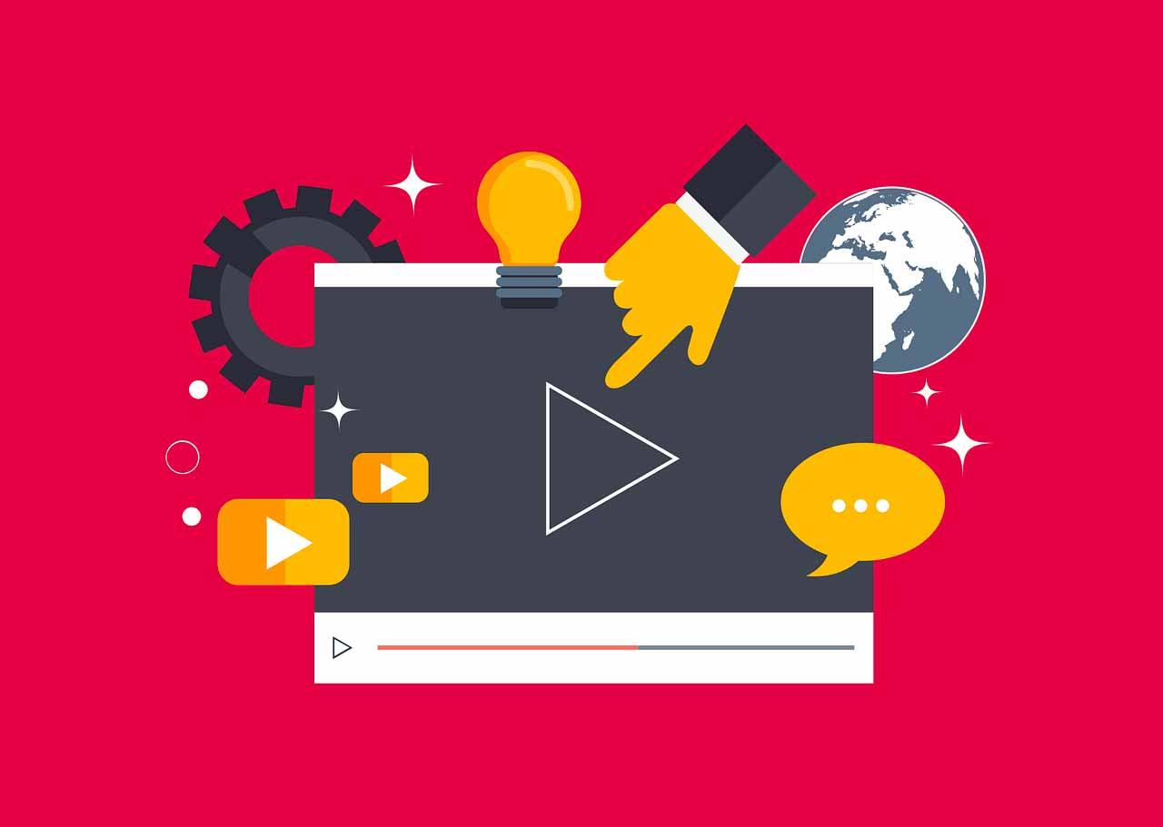Une image représentant un lecteur vidéo sur une page web