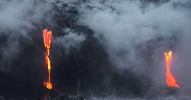 Aerocamaras : un drone géant va sauver trois chiens piégés par un volcan
