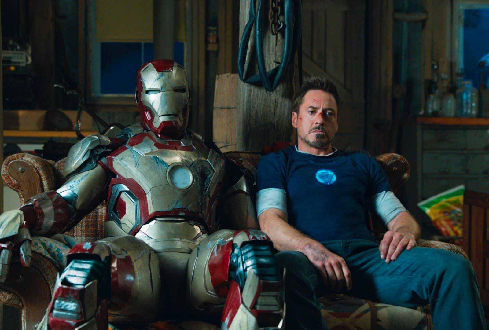 Un extrait d'Iron Man 3