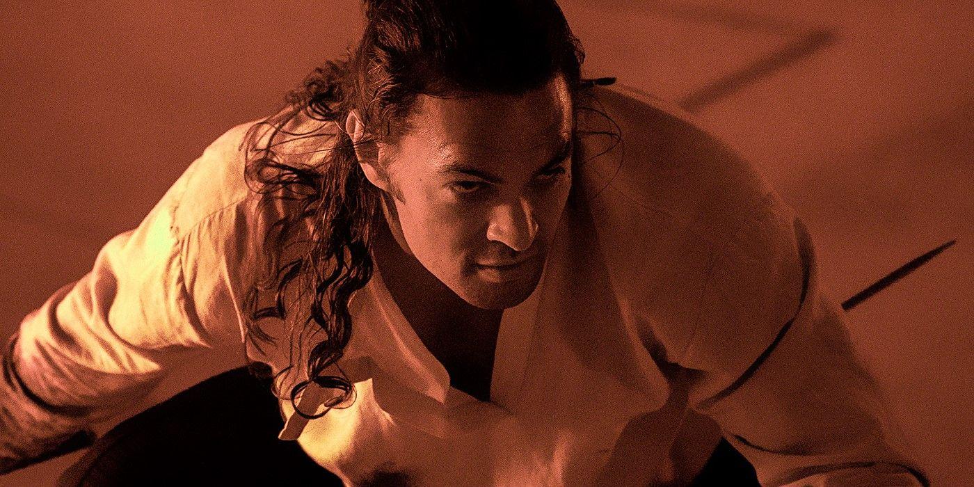 Quand le physique imposant de Jason Momoa impressionne une actrice de Dune
