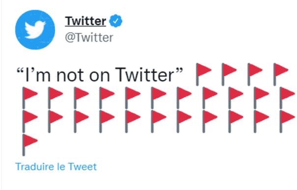 Twitter et ses drapeaux rouges : comment expliquer cette tendance ?