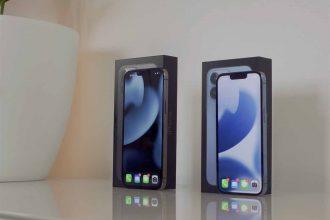Les iPhone 13 Pro et iPhone 13 Pro Max de face
