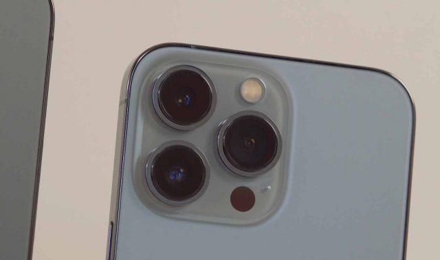 Trois focales et toujours ce capteur LiDAR